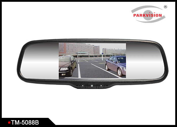 Bluetooth Digital Rear View Mirror Display With Standard 2 - Way Video Input