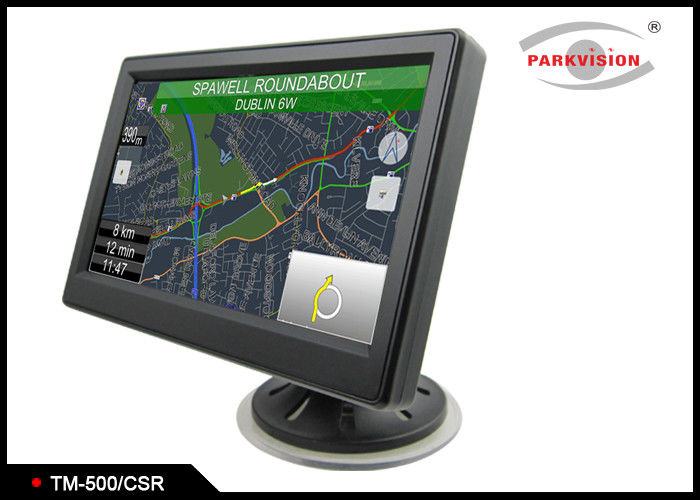 5 Inch Bus Monitoring System With Front Parking Sensor , Rear View LCD Monitor