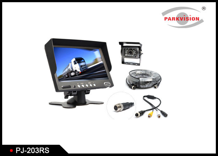 3.2 Mega Pixel CMOS Rear View Parking Mirror With PAL / NTSC Automatically System