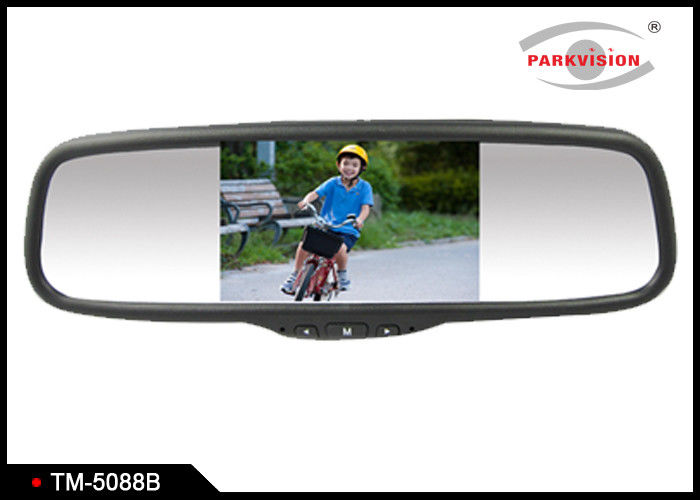 5 Inch Wide Screen Car Reversing Mirror Monitor With 480 X 272 Resolution